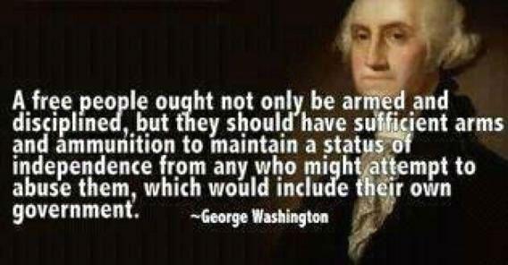 George Washington on Gun Control